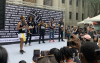 The Black Lives Matter rally in Taipei on June 13, 2020